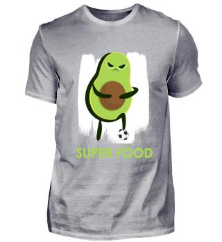 Avocado Superfood Lustig Fußball Sport