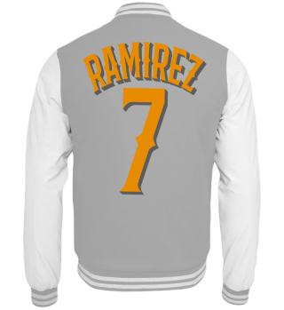 Herren College Jacke Ramirez 7 Ramirez