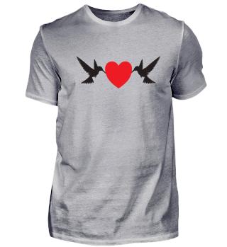 Vogel Liebe Sperling Kanarienvogel
