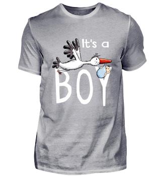 It's A Boy Baby Mit Storch I Schwanger