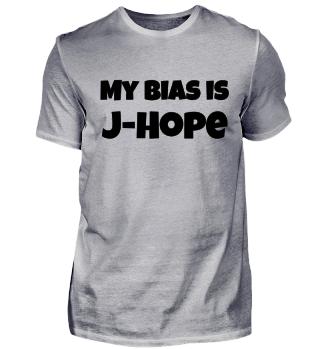 my bias is J Hope