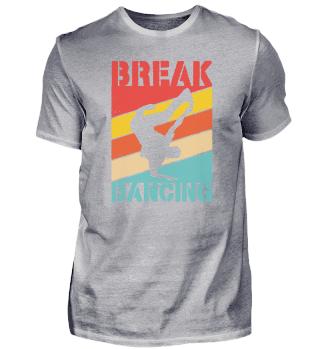 Breakdancing Retro Bboy 90s gift