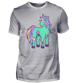Unicorn Zombie Unicorn Horse Halloween