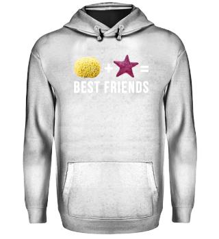 Sponge + Starfish = Best Friends