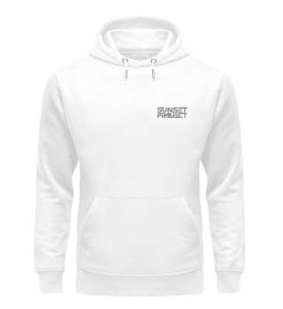 Premium Hoodie mit grauem Logo