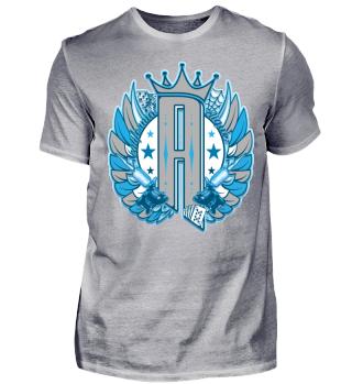 Herren Kurzarm T-Shirt R Tattoo Ramirez
