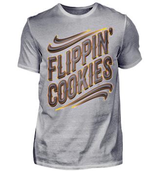 Herren Kurzarm T-Shirt Flippin' Cookies Ramirez