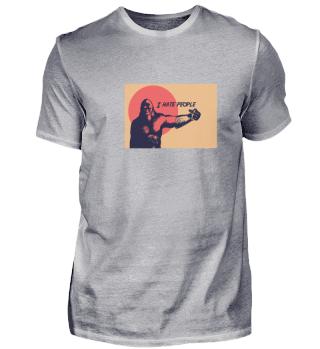 Bigfoot Stinky Finger Sasquatch Retro Ha