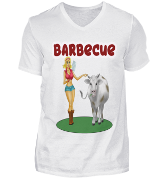Barbecue grillen sexy girl