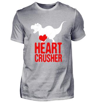 Dinosaur Shirt Valentines Tag T Rex Gesc