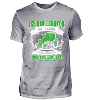 Landwirt · Traktor · bemühe dich nicht