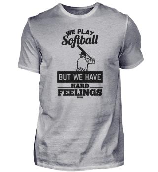cooler Softballspruch
