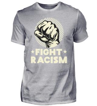 Antirassismus gegen rechts statement