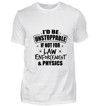 Science Physics Law Unstoppable gift