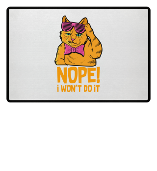 No, I won't do it! Cat Puberty