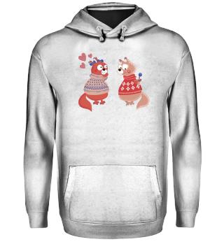 Verliebte Otter Geschenk Tier Valentins