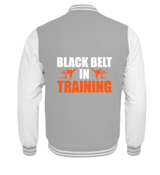 Martial Arts Black Belt in Training - Gi