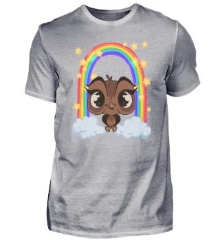 Baby Owl Kids Rainbow