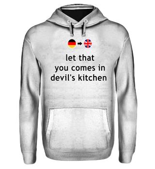 Wortwörtlich Deutsch Englisch - devil