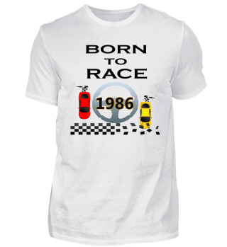 Born to Race Racing Autos Rennen 1986