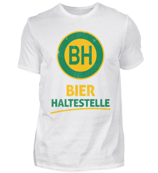 BH Bier Haltestelle - Words on Shirts