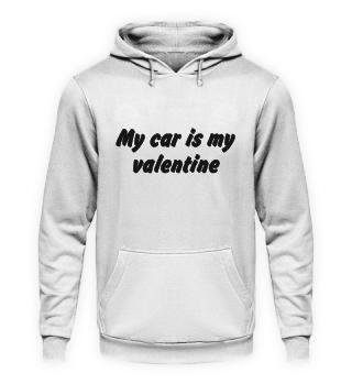 My car is my valentine black