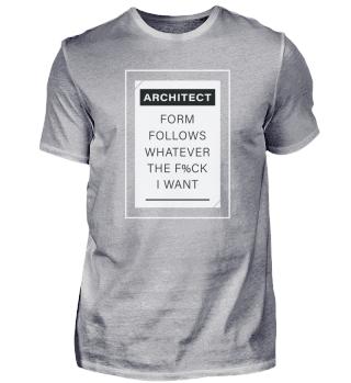Der Architekt Folgt, Was Immer Der F%ck Möchte