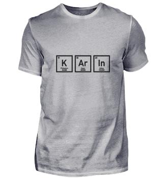 Karin - Periodensystem