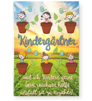 Poster Kindergärtner