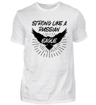 STRONG RUSSIAN EAGLE - Fun Russian Gift
