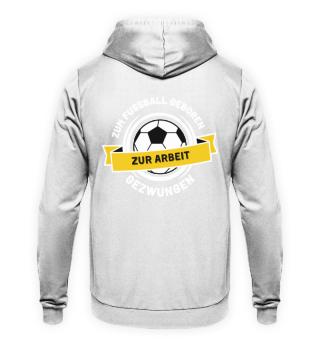 Fussball Arbeit (Gelb)