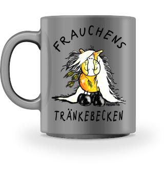 Frauchens Trinknapf Haflinger I Tasse