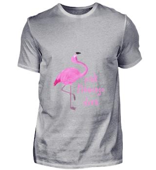 D010-0242A Pink Flamingo Diva