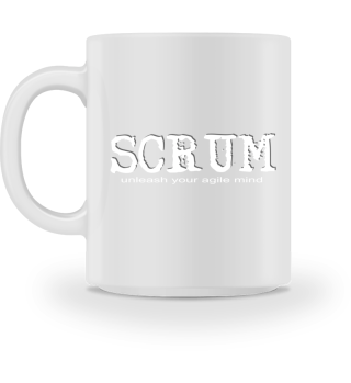 SCRUM - AGILE MINDSET INSTALLED CUP