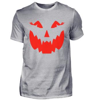 Halloween Kostüm Lustige Kürbis Fratze