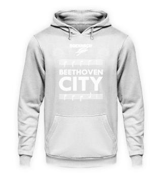 unisex hoodie beethoven city
