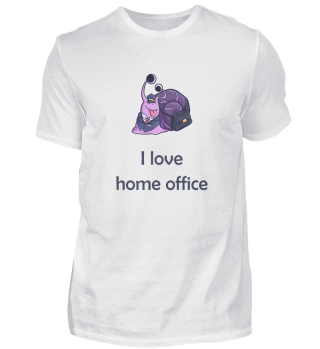 Home Office Snail work occupation gift