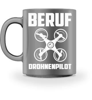 BERUF DROHNENPILOT Kaffeetasse