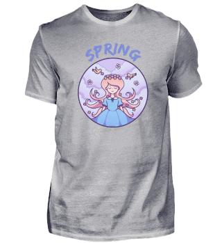 Spring girl Spring woman gift