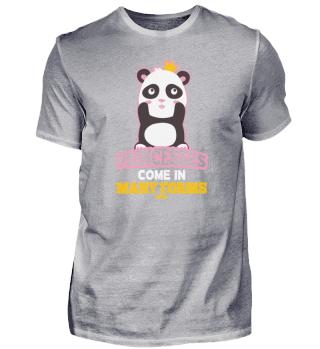 Princess girl panda pandal lovers