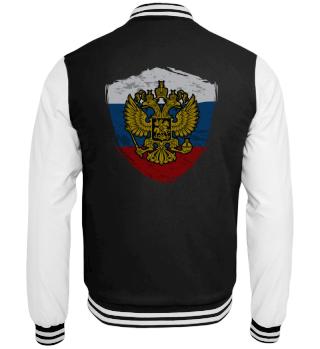 Russia badge flag flag