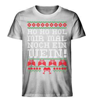 Ho-Ho Hol mir Wein - Ugly Christmas