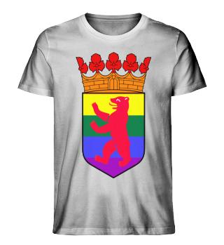 Berlin Bear LGBT+ Mens T-Shirt