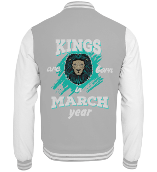 Kings are born in march year edition