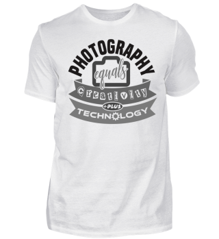 Stylish Photography Gift Shirt