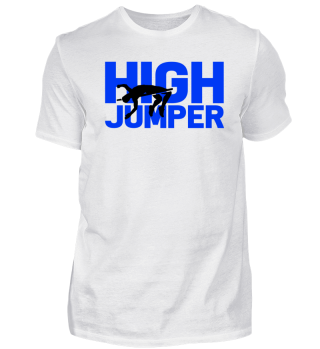 High jumper high jump pole vault gift