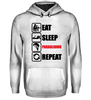EAT - SLEEP - PARAGLIDING - REPEAT
