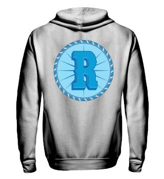 Herren Zip Hoodie Sweatshirt R Coin Ramirez