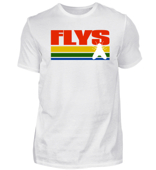 Flys Distressed T Shirt
