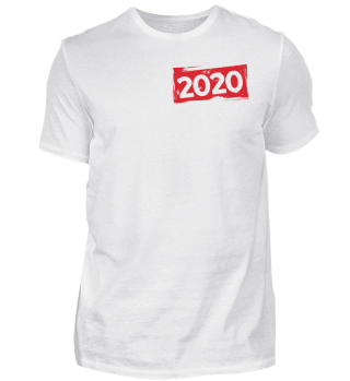 202 New Year T-shirt Limited edition